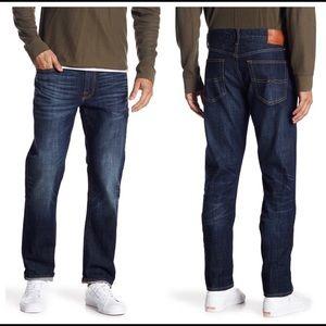 Lucky Brand 121 Slim Straight Dark Wash Jeans 30